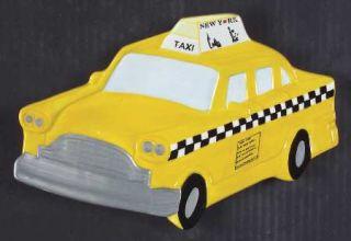 Studio Nova New York Taxi Open Candy Dish, Fine China Dinnerware   Ny City Motif
