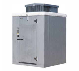 Masterbilt Outdoor Walk Cooler (+35 F) w/ Floor, 510x510x76, Galvalume