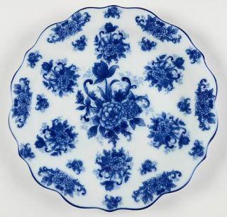 Cracker Barrel Blue And White 12 Chop Plate/Round Platter, Fine China Dinnerwar