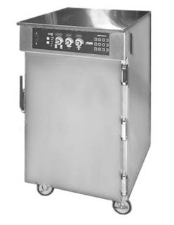 FWE   Food Warming Equipment Rethermalizer Holding, 10 Slides, 10 Bun Pans/80 Meal Trays, Stainless, 208/3V