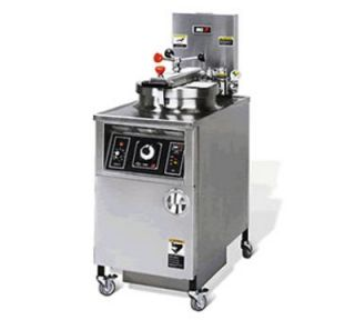 BKI Extra Large Volume Pressure Fryer w/ Manual Control, 48 lb Oil Capacity, 240/3 V