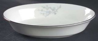 Oxford (Div of Lenox) Twilight Dell 8 Oval Vegetable Bowl, Fine China Dinnerwar
