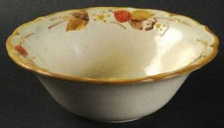Metlox   Poppytrail   Vernon Autumn Berry Coupe Cereal Bowl, Fine China Dinnerwa