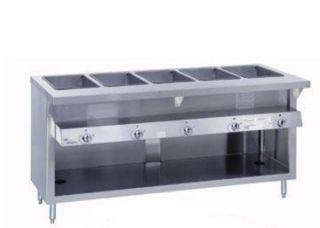 Duke Thurmaduke Steamtable Unit, 2 Dry Heat Wells, NG