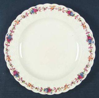 Spode Hazel Dell (Cream) Dinner Plate, Fine China Dinnerware   Cream, Multicolor