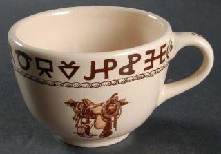 True West Boots & Saddle Mug, Fine China Dinnerware   Till Goodan,Cowboy Items,B