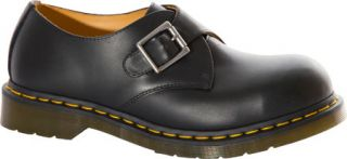 Dr. Martens Joey Monk Steel Toe Shoe   Black Fine Haircell Casual Shoes