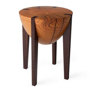 Miles & May RD Stool 32.05 Finish: Body: Heart Pine / Legs: Wenge