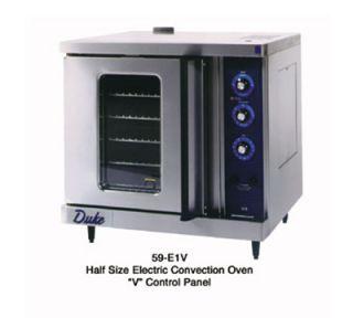 Duke Half Size Convection Oven   Single Deck, Manual Controls 208/60/3v