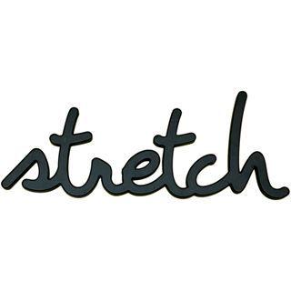 ART Stretch Wood Sign Wall Decor, Black