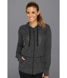 ExOfficio Chica Cool Zip Front Hoodie Womens Sweatshirt (Black)