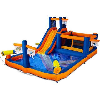 Blast Zone Pirates Bay Inflatable Water Combo