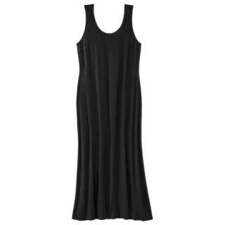Merona Womens Plus Size Sleeveless V Neck Maxi Dress   Black 1