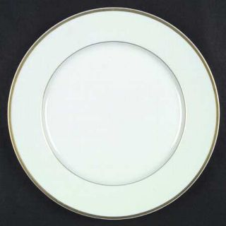 Block China Lisboa Gold Dinner Plate, Fine China Dinnerware   Gold Trim, Rim Sha