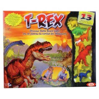 POOF Slinky Ideal T Rex Dinosaur Battle Board Game