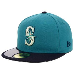 Seattle Mariners New Era MLB High Crown Legacy Collection 59FIFTY Cap