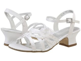 Kenneth Cole Reaction Kids Pass The Star Girls Shoes (White)