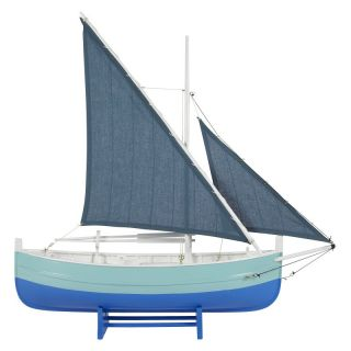 Authentic Models Biscay Fishing Boat in Blue   AS087