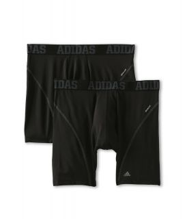 adidas Sport Performance ClimaCool 2 Pack Boxer Brief Mens Underwear (Black)