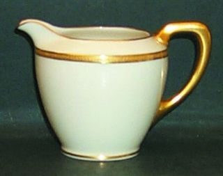 Lenox China Windsor (Gold Backstamp) Creamer, Fine China Dinnerware   Gold Backs