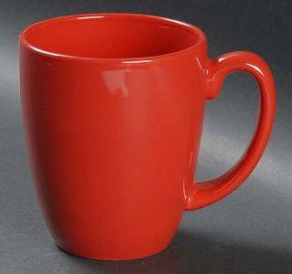 Corning Berries And Leaves Mug, Fine China Dinnerware   Red Band & Leaves/Berrie