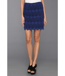 MINKPINK Moscato Lace Skirt Womens Skirt (Navy)
