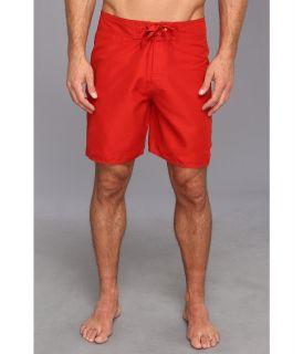 Quiksilver Waterman Rocky 3 Boardshort Mens Swimwear (Red)