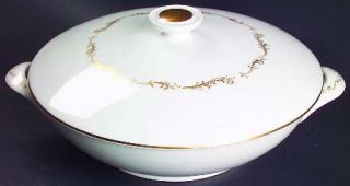 Royal Doulton French Provincial Round Covered Vegetable, Fine China Dinnerware