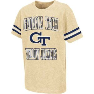 Georgia Tech Yellow Jackets Colosseum NCAA Youth Bullet T Shirt
