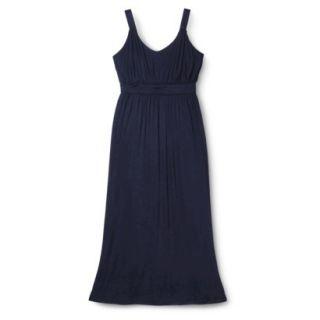 Merona Womens Plus Size Sleeveless V Neck Maxi Dress   Navy 1