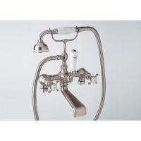 Rohl U.3541X APC Edwardian Exposed Bathtub/Shower Mixer Without Unions, Cross Ha