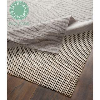 Martha Stewart Non slip Hard Floor Rubber Rug Pad (9 X 12)