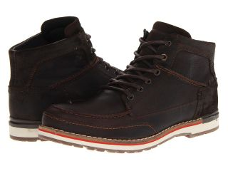 Type Z Denny Mens Lace up Boots (Brown)