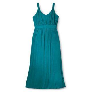 Merona Womens Plus Size Sleeveless V Neck Maxi Dress   Monteray Bay 2