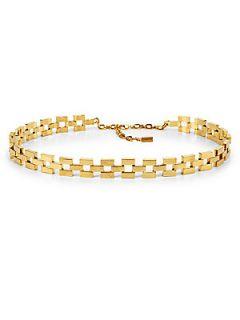 St. John Chain Link Belt   Light Gold