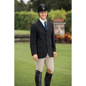 Grand Prix Techlite Hunt Coat Black 40