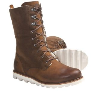 Sorel Wicked Work Boots   Leather  Shearling Lining (For Women)   KETTLE (11 )