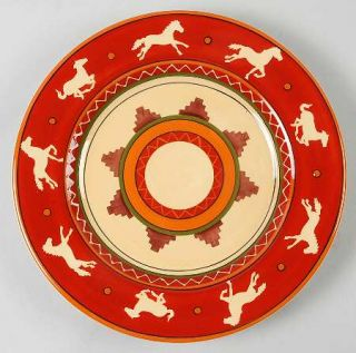 Tabletops Unlimited Del Rio Dinner Plate, Fine China Dinnerware   Tabletops Gall