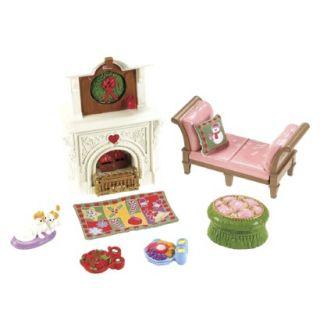Fisher Price Loving Family 2 In 1 Seasonal Room Set