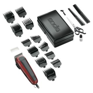 Andis Easy Cut Hair Clipper Set   Red/ Black (20 Piece)