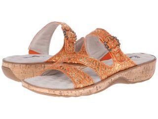SoftWalk Bal Harbour Womens Shoes (Orange)