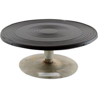 Vestil Heavy Duty Manual Turntable   500 Lb. Capacity, 12in. Dia., 4in.H,