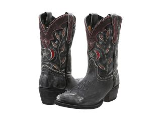 Dan Post Kids Western Fashion Cowboy Boots (Black)