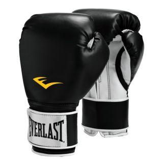 Pro Style Boxing Gloves Black 16oz (PR)