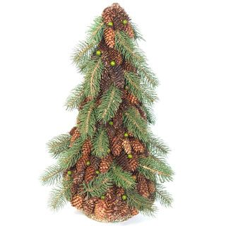 Pine And Pine Cone Topiary Tree