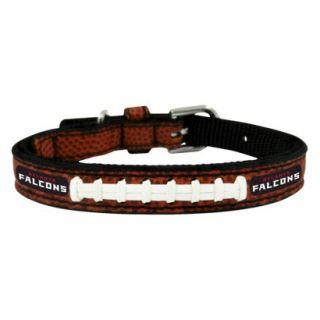 Atlanta Falcons Classic Leather Toy Football Collar