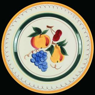Stangl Fruit 12 Chop Plate/Round Platter Fine China Dinnerware Fruit Center & Stangl Fruit 12 Chop Plate/Round Platter Fine China Dinnerware ...