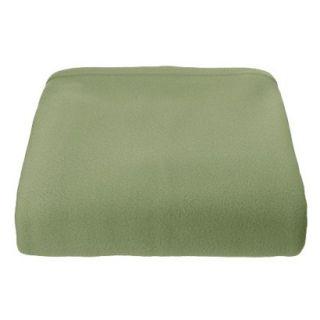 Super Soft Fleece Blanket   Basil (Full/Queen)