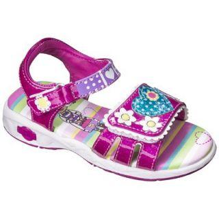 Toddler Girls Doc McStuffins Gladiator Sandals   Pink 7