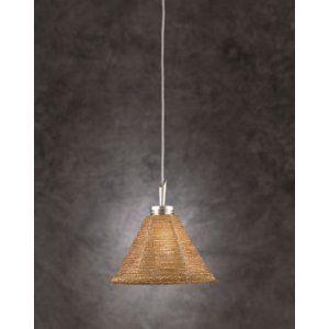 PLC Lighting PLC 237 GOLD Belmondo Mini Pendant / 1 Light Halogen 12v. 50W